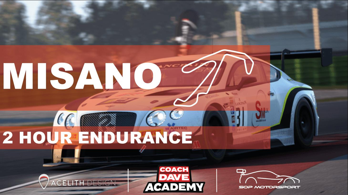 SOP - 2h GT3 Endurance of Misano - 21st November