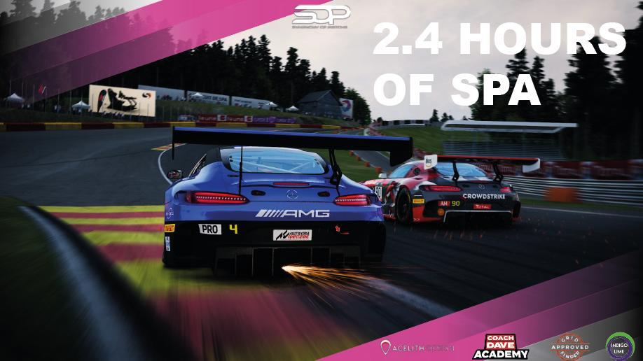144 minutes of Spa - February 2021 - ACC